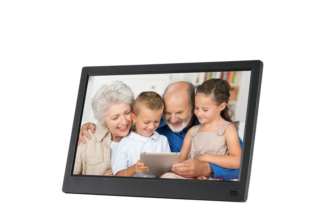 ABS Plastic Battery Operated Digital Picture Frame 11.6 Inch HD IPS Screen