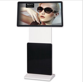 FHD MP4 / MPG2 Floor Standing LCD Advertising Player پشتیبانی WIFI RJ45